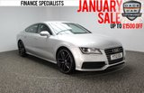 USED 2012 12 AUDI A7 3.0 TDI S LINE 5DR 204 BHP AUTOMATIC FULL SERVICE HISTORY FULL SERVICE HISTORY + HEATED LEATHER SEATS + PARKING SENSOR + BLUETOOTH + CRUISE CONTROL + CLIMATE CONTROL + MULTI FUNCTION WHEEL + 21 INCH ALLOY WHEELS