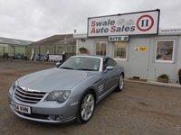 USED 2004 54 CHRYSLER CROSSFIRE 3.2 V6 2 DOOR AUTO 215 BHP £19 PER WEEK, NO DEPOSIT - SEE FINANCE LINK
