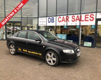 USED 2007 AUDI A4 3.0 TDI QUATTRO DPF S LINE 4d 229 BHP NO DEPOSIT AVAILABLE, DRIVE AWAY TODAY!!