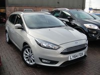 USED 2015 64 FORD FOCUS 1.6 TITANIUM 5d AUTO 124 BHP ANY PART EXCHANGE WELCOME, COUNTRY WIDE DELIVERY ARRANGED, HUGE SPEC