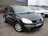 USED 2007 57 RENAULT GRAND SCENIC 1.6 DYNAMIQUE VVT 7STR 5d 111 BHP ANY PART EXCHANGE WELCOME, COUNTRY WIDE DELIVERY ARRANGED, HUGE SPEC