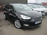 USED 2017 17 FORD GRAND C-MAX 1.5 TITANIUM TDCI 5d 118 BHP ANY PART EXCHANGE WELCOME, COUNTRY WIDE DELIVERY ARRANGED, HUGE SPEC