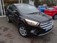 USED 2017 17 FORD KUGA 1.5 ZETEC 5d 118 BHP Very Low Mileage, less than 9,000 miles covered! Full Service History with Ford Genuine Parts, One Owner from new, MOT until March 2020. Balance of Ford Warranty until March 2020. Finished in Shadow Black with a 6 Speed Gearbox