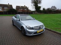 USED 2013 54 MERCEDES-BENZ C CLASS 2.1 C220 CDI BLUEEFFICIENCY AMG SPORT PLUS 2d AUTO 168 BHP
