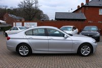USED 2010 60 BMW 5 SERIES 2.0 520D SE 4d 181 BHP FSH+Black Heated Leather+NAV