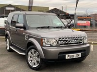 USED 2010 10 LAND ROVER DISCOVERY 3.0 4 TDV6 GS 5d AUTO 245 BHP *WELL MAINTAINED, BLUETOOTH, HARMON KARDON SOUND*