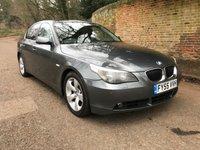 2005 BMW 5 SERIES 2.5 525D SE 4d 175 BHP £2195.00