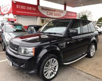 2010 LAND ROVER RANGE ROVER SPORT 3.0 TDV6 HSE AUTO/DIESEL *ONLY 58,000 MILES* £15995.00