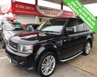 USED 2010 10 LAND ROVER RANGE ROVER SPORT 3.0 TDV6 HSE AUTO/DIESEL *ONLY 58,000 MILES*