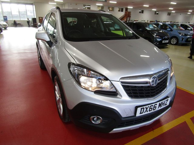 View our 2016 66 VAUXHALL MOKKA 1.4 TECH LINE S/S 5d 138 BHP