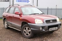 USED 2004 04 HYUNDAI SANTA FE 2.0 GSI CRTD 5d 115 BHP *PX CLEARANCE - NOT INSPECTED - NO WARRANTY - NOT AVAILABLE ON FINANCE - NO PX TAKEN*