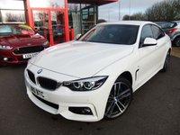 USED 2017 BMW 4 SERIES 3.0 430D XDRIVE M SPORT GRAN COUPE 4d AUTO 255 BHP Digital Dash, Advance Parking