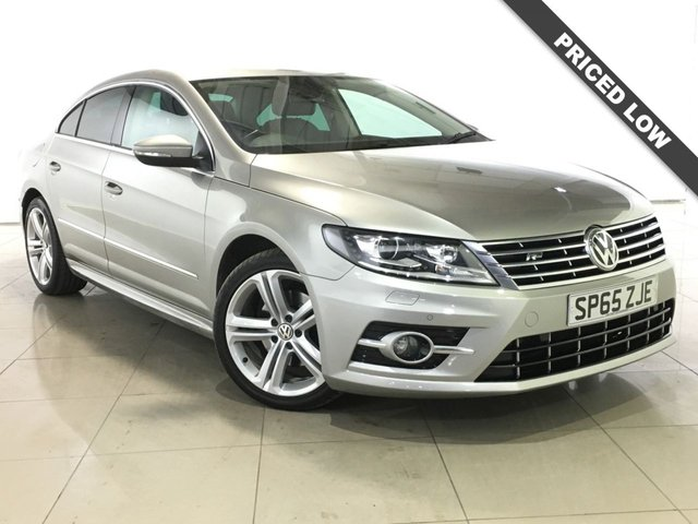 View our 2015 65 VOLKSWAGEN CC 2.0 R LINE TDI BLUEMOTION TECHNOLOGY NAV DSG 4d AUTO 148 BHP