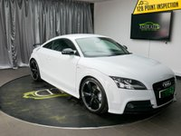 USED 2013 13 AUDI TT 2.0 TDI QUATTRO BLACK EDITION 2d AUTO 168 BHP £0 DEPOSIT FINANCE AVAILABLE, AIR CONDITIONING, AUX INPUT, BOSE SOUND SYSTEM, CLIMATE CONTROL, DAYTIME RUNNING LIGHTS, FULL S LINE LEATHER UPHOLSTERY, GEARSHIFT PADDLES, PARKING SENSORS, STEERING WHEEL CONTROLS, TRIP COMPUTER