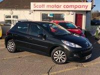 2012 PEUGEOT 207 1.4 Active 5 door £2999.00