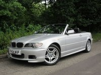 2004 BMW 3 SERIES 2.0 318CI SPORT CONVERTIBLE 2d 141 BHP £2995.00