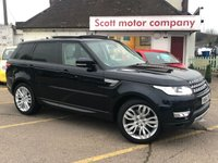 USED 2014 64 LAND ROVER RANGE ROVER SPORT 3.0 SDV6 HSE 5 door Automatic 7 seats