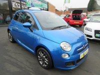 USED 2015 64 FIAT 500 1.2 S 3d 69 BHP ***VERY LOW MILEAGE***