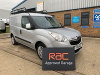 USED 2013 13 VAUXHALL COMBO 1.3 2000 L1H1 CDTI SPORTIVE 1d 90 BHP PART EXCHANGE TO CLEAR, LOW MILES, SPORTIVE SPEC