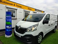 USED 2016 66 RENAULT TRAFIC 1.6 SL27 BUSINESS ENERGY DCI S/R P/V 1d 120 BHP
