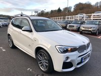 USED 2016 16 BMW X3 3.0 XDRIVE35D M SPORT 5d AUTO 309 BHP One owner 4,500 miles with M-Sport specification