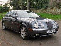 2004 JAGUAR S-TYPE 4.2 V8 SE 4d 300 BHP £4490.00