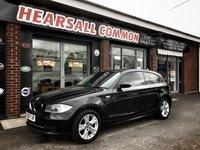2009 BMW 1 SERIES 2.0 118D SPORT 3d 141 BHP £3995.00
