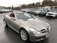 USED 2005 05 MERCEDES-BENZ SLK 1.8 SLK200 KOMPRESSOR 2d 161 BHP Red leather, heated seats & Airscalf Neck heaters. Only 64,000 miles