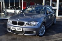 USED 2010 10 BMW 1 SERIES 2.0 120I M SPORT 2d 168 BHP FINANCE TODAY WITH NO DEPOSIT