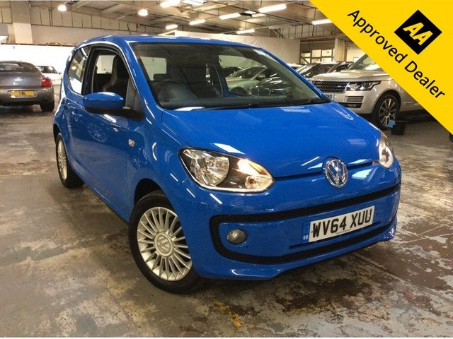 2014 64 VOLKSWAGEN UP 1.0 HIGH UP 3d 74 BHP