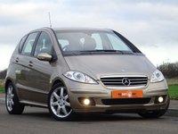 2005 MERCEDES-BENZ A CLASS 2.0 A180 CDI AVANTGARDE SE 5d AUTO 108 BHP £3250.00