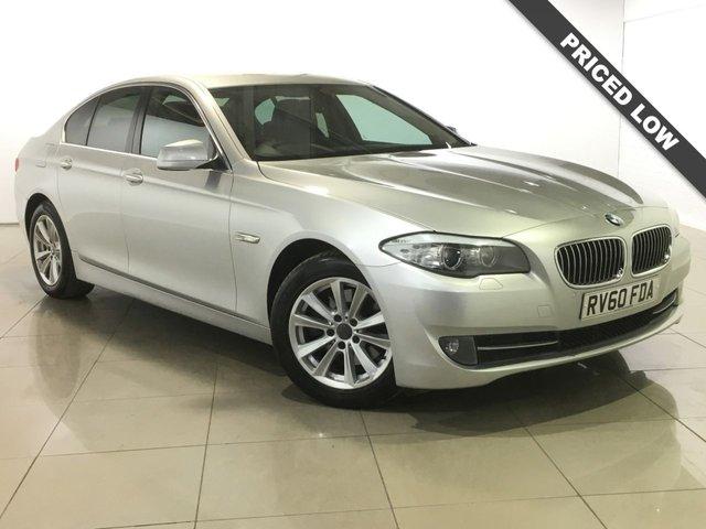 View our 2010 60 BMW 5 SERIES 2.0 520D SE 4d AUTO 181 BHP