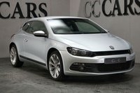 USED 2008 58 VOLKSWAGEN SCIROCCO 2.0 GT DSG 3d AUTO 200 BHP DESIRABLE HIGH SPEC DSG AUTOMATIC WITH FACTORY WIDE SCREEN SAT NAV HEATED SEATS ALLOY WHEELS WITH AN EXCELLENT SERVICE HISTORY EXCELLENT CONDITION THROUGHOUT