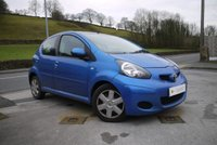 USED 2010 59 TOYOTA AYGO 1.0 BLUE VVT-I 5d 67 BHP PART EXCHANGE TO CLEAR