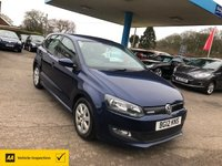 2012 VOLKSWAGEN POLO 1.2 BLUEMOTION TDI 5d 74 BHP £6999.00