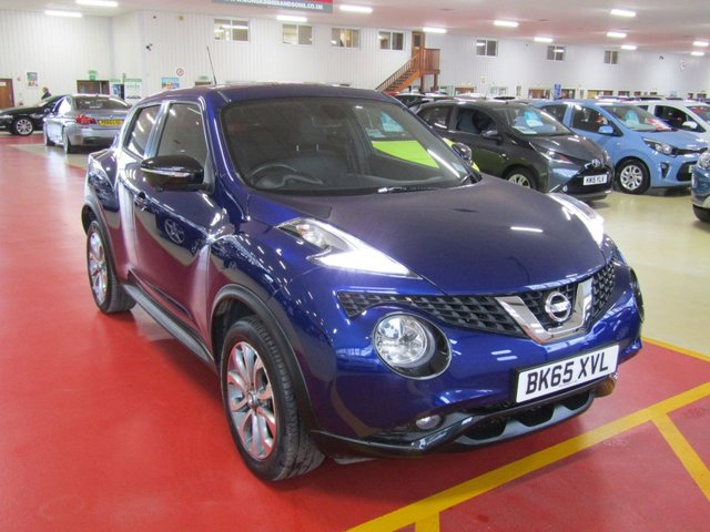 View our 2015 65 NISSAN JUKE 1.2 TEKNA DIG-T 5d 115 BHP
