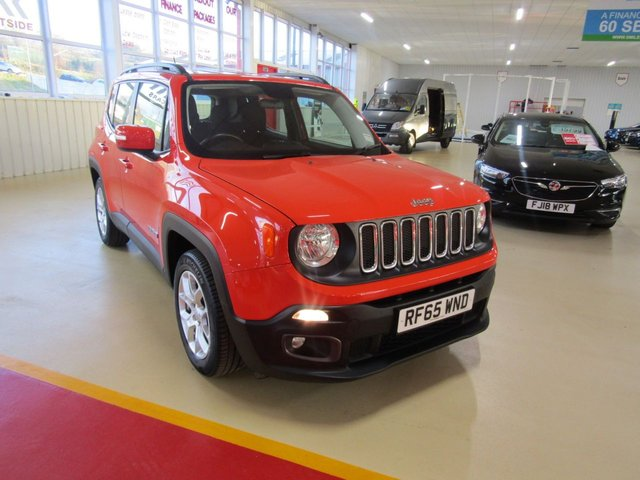 View our 2015 65 JEEP RENEGADE 1.6 M-JET LONGITUDE 5d 118 BHP