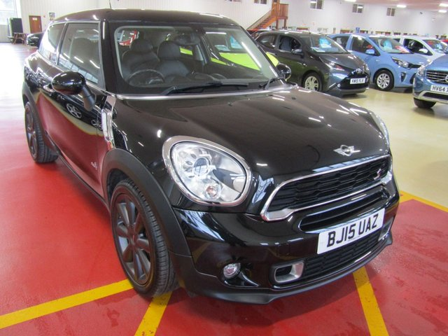 View our 2015 15 MINI PACEMAN 2.0 COOPER SD ALL4 3d 143 BHP