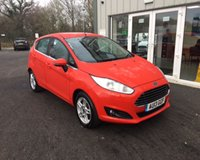 USED 2013 13 FORD FIESTA 1.0 ZETEC THIS VEHICLE IS AT SITE 1 - TO VIEW CALL US ON 01903 892224