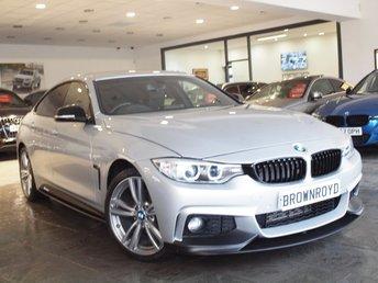 2014 BMW 4 SERIES GRAN COUPE  420D XDRIVE M SPORT GRAN COUPE 4d AUTO 181 BHP £19990.00
