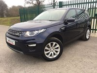 2015 LAND ROVER DISCOVERY SPORT 2.2 SD4 SE TECH 5d 190 BHP 7 SEATER SAT NAV LEATHER ONE OWNER FSH £19990.00