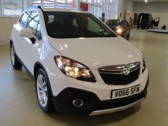 View our 2017 66 VAUXHALL MOKKA 1.4 EXCLUSIV S/S 5d 138 BHP