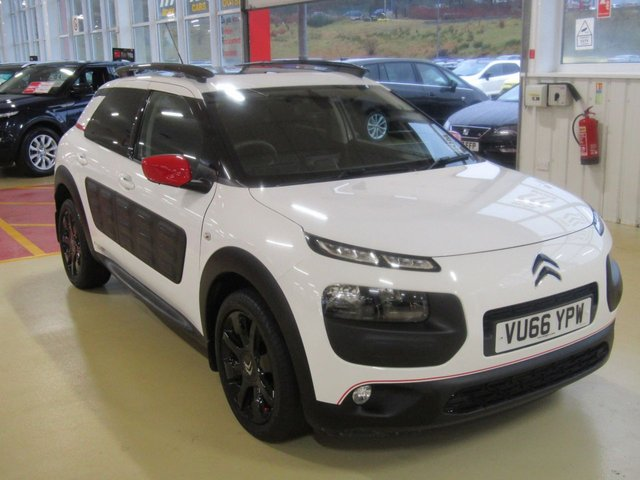 View our 2016 66 CITROEN C4 CACTUS 1.2 PURETECH FLAIR S/S 5d 109 BHP