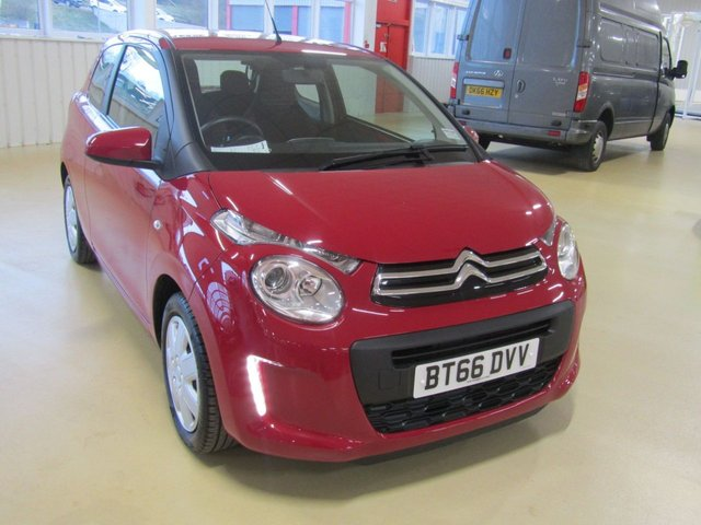 View our 2016 66 CITROEN C1 1.0 FEEL 3d 68 BHP