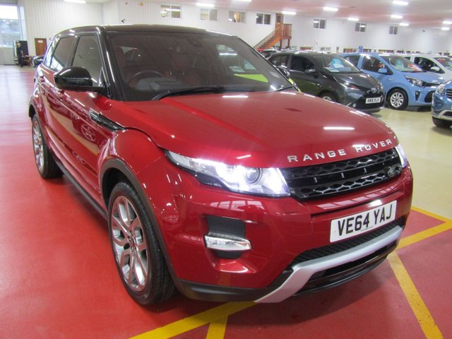 View our 2014 64 LAND ROVER RANGE ROVER EVOQUE 2.2 SD4 DYNAMIC 5d 190 BHP