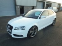 2012 AUDI A3 2.0 TDI S LINE SPECIAL EDITION 3d AUTO 138 BHP £7991.00