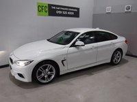 2015 BMW 4 SERIES 2.0 420D M SPORT GRAN COUPE 4d AUTO 188 BHP £16500.00