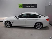 USED 2015 65 BMW 4 SERIES 2.0 420D M SPORT GRAN COUPE 4d AUTO 188 BHP AMAZING CAR WITH AMAZING SPEC, FINISHED IN GLEAMING BLACK FULL SERVICE HISTORY  ,THIS CAR IS A GREAT EXAMPLE OF A PRESTIGE SALOON, THIS CAR COMES WITH SOME GREAT SPEC, BLUETOOTH PHONE AND MUSIC PREP, AUX AND USB POINTS, SPORTS /ECO MODES, MULTI FUNCTION LEATHER CLAD STEERING WHEEL, STOP START, PRIVACY GLASS,18INCH BRAND NEW ALLOYS AT Additional cost, DAB CD RADIO, ELEC MIRRORS, ELEC WINDOWS