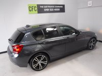 USED 2014 64 BMW 1 SERIES 1.6 116D EFFICIENTDYNAMICS 5d 114 BHP AMAZING CAR IN THE BEST COLOUR, GLEAMING WHITE, WITH IMMACULATE BLACK FULL LEATHER, ONE OWNER WITH FULL BMW SERVICE HISTORY,  LEATHER CLAD STEERING MULTI FUNCTION STEERING WHEEL,PARKING SENSORS,  DAB RADIO CD WITH AUX/USB CONNECTIONS, STOP START TECHNOLOGY, SPORT/ECO BUTTON, 18INCH UPGRADED ALLOYS, ELEC WINDOWS/MIRRORS ,