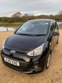 USED 2015 15 HYUNDAI I10 1.0 SE 5d 65 BHP Phantom Black, Air conditioning, £20 RFL.